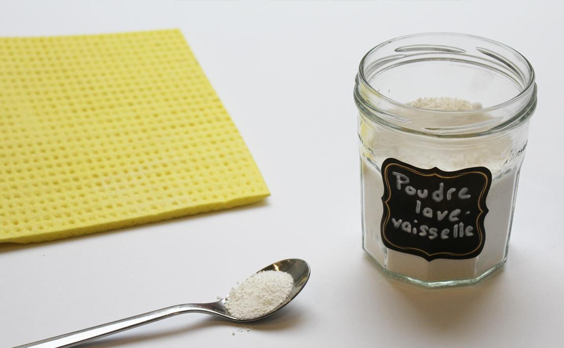 Recette de La poudre de Lave-vaisselle