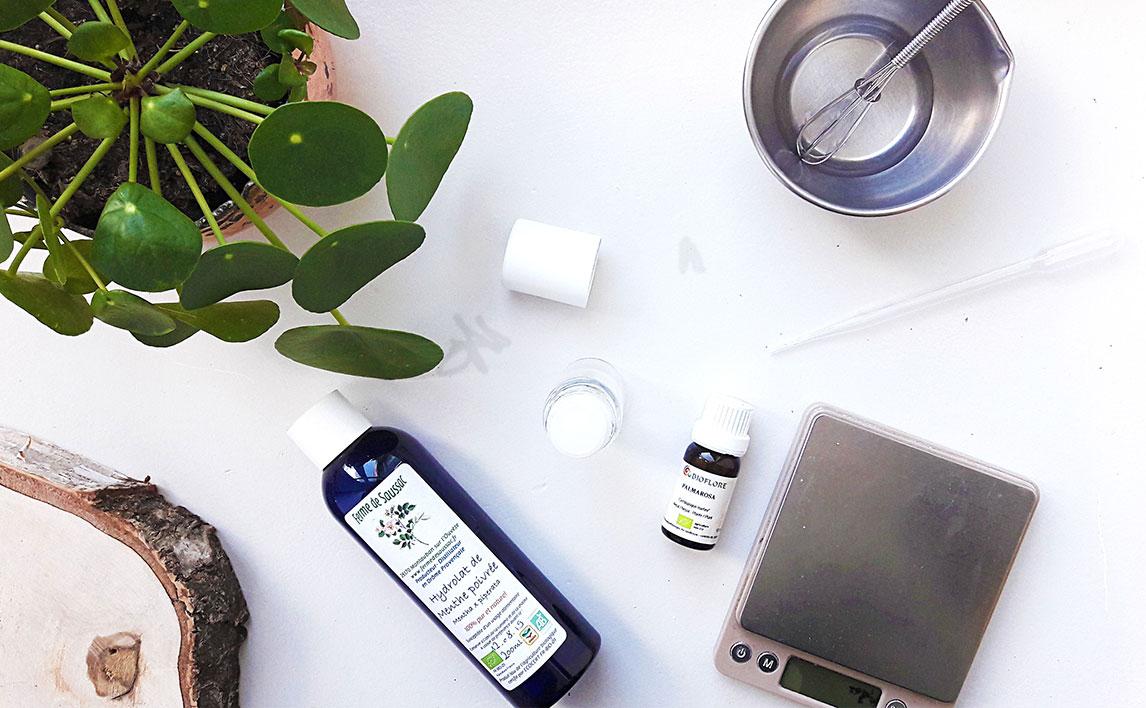 Recette : Le déodorant naturel roll-on
