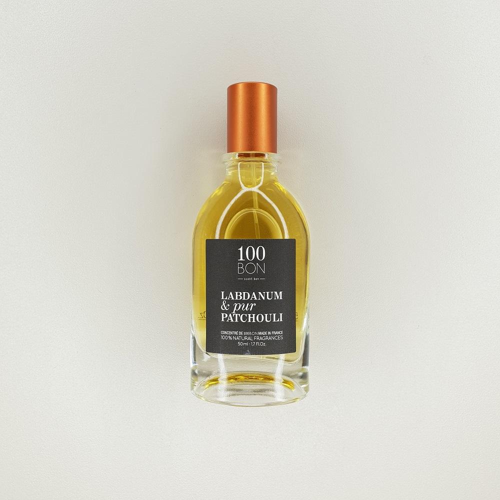 parfum 100 bon labdanum et pur patchouli 50 ml