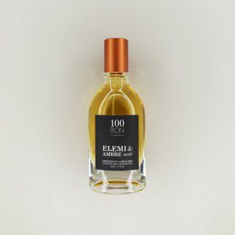 Concentré de parfum 100 Bon - Elemi et Ambre noir