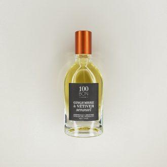 Concentré de parfum 100 Bon - Gingembre et Vétiver sensuel