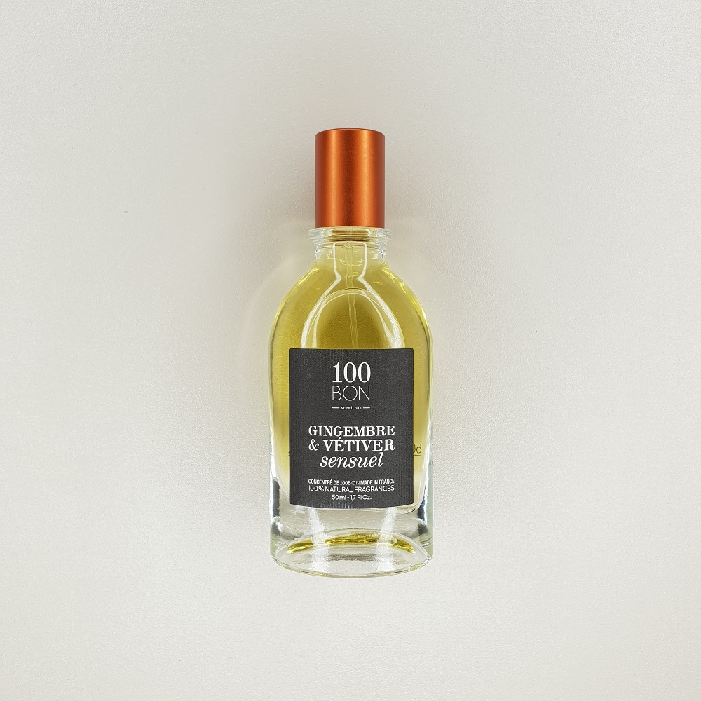 parfum 100 bon gingembre vétiver 100 ml