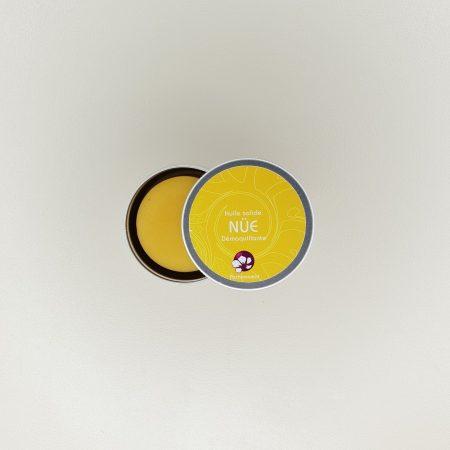 huile démaquillante nue pachamamai format voyage en boite aluminium 20 grammes