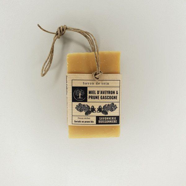 savon miel prune la Savonnerie Buissonnière 100 grammes