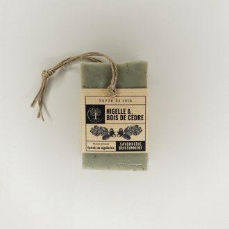 Savon de soin - Nigelle & Bois de cèdre