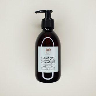 Savon liquide 100 bon - Eucalyptus et Lavande aromatique