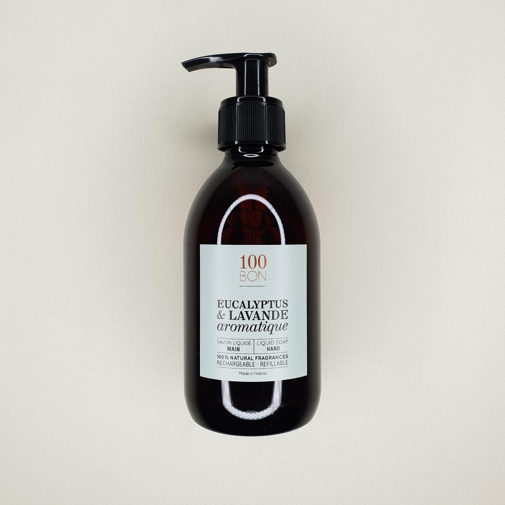 savon liquide 100 bon eucalyptus & lavande aromatique