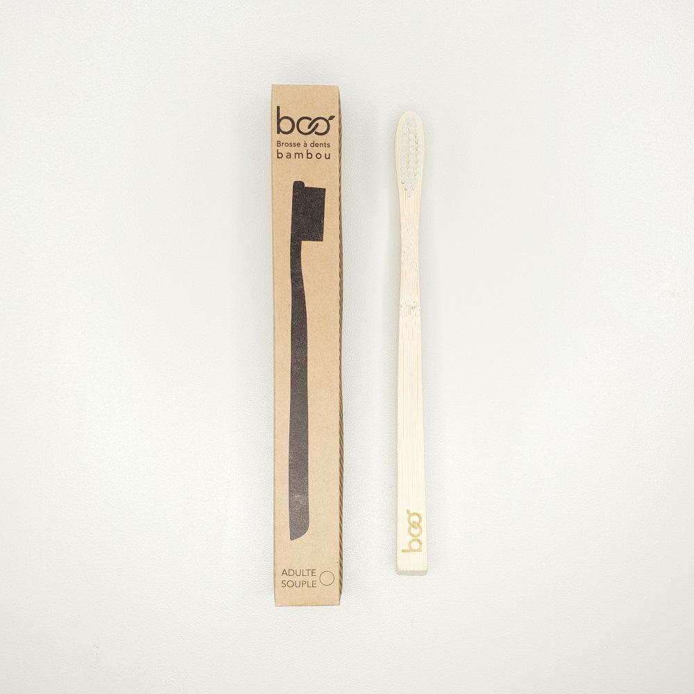 brosse à dents bambou compostable zéro déchet my boo