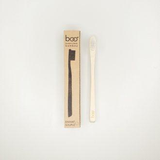 Brosse à dents bambou - Enfant