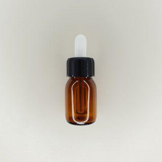 Flacon compte-gouttes ambré 30 ml