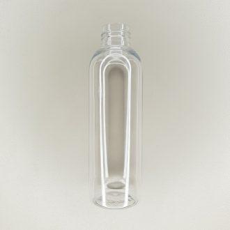 Flacon plastique transparent 150 ml
