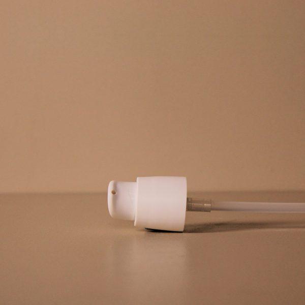 pompe crème flacon verre
