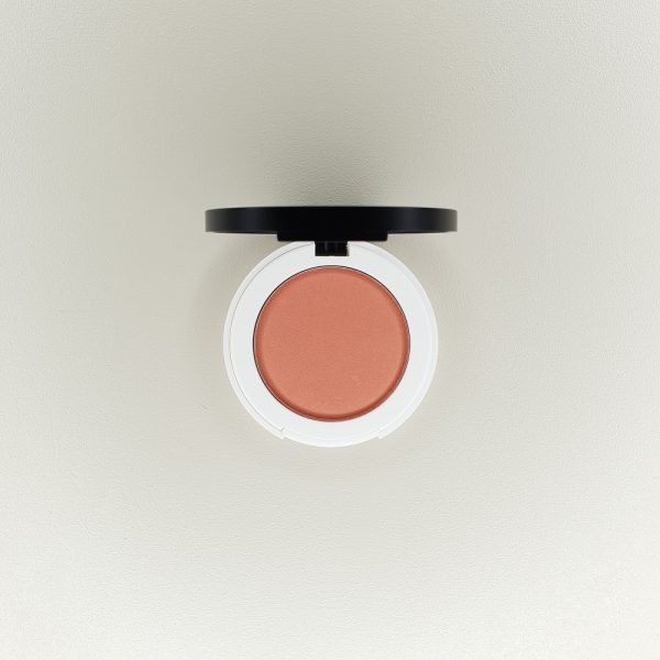 blush compact just peachy