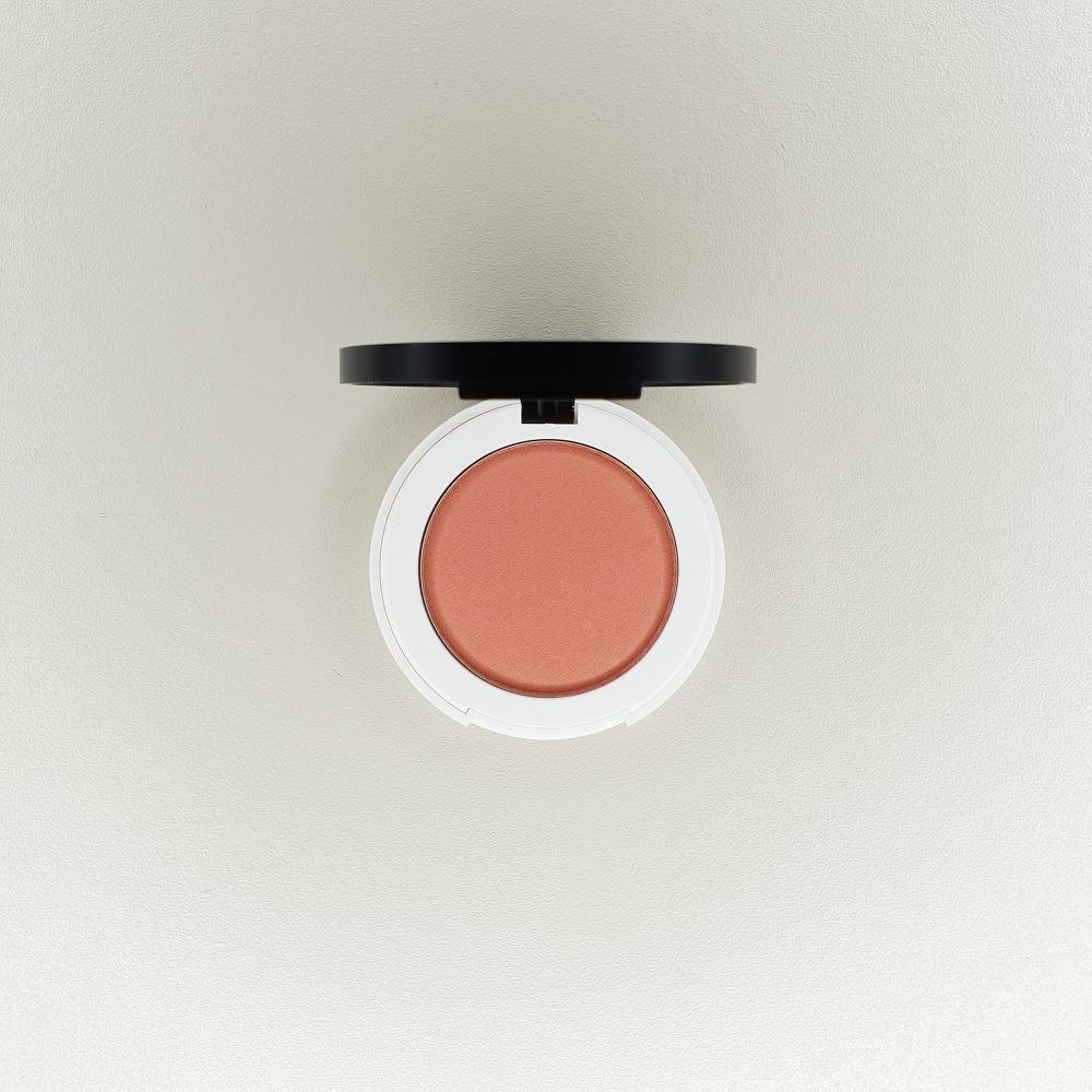 blush compact just peachy