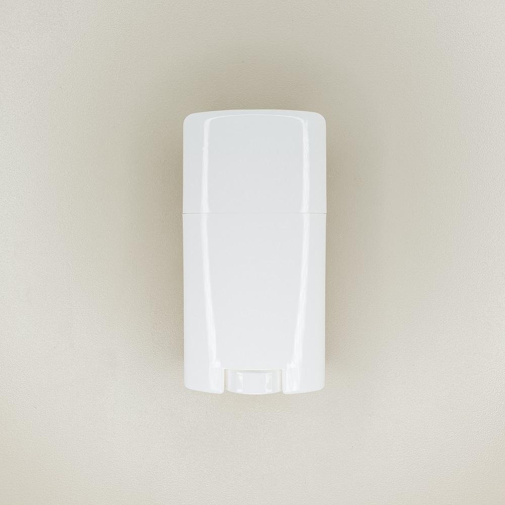 stick déodorant vide blanc en plastique de 40 ml
