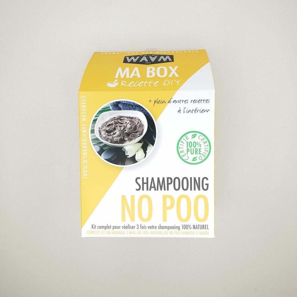 Kit DIY ma box shampoing No Poo à réaliser soit même Waam