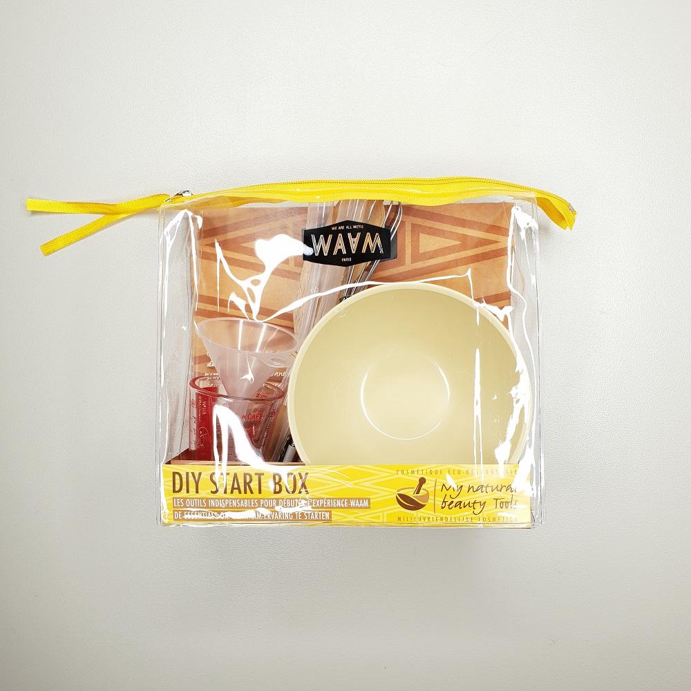 trousse matériels indispensables cosmétique maison DIY start box waam