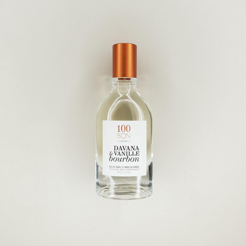 eau de parfum 100 bon davana et vanille bourbon