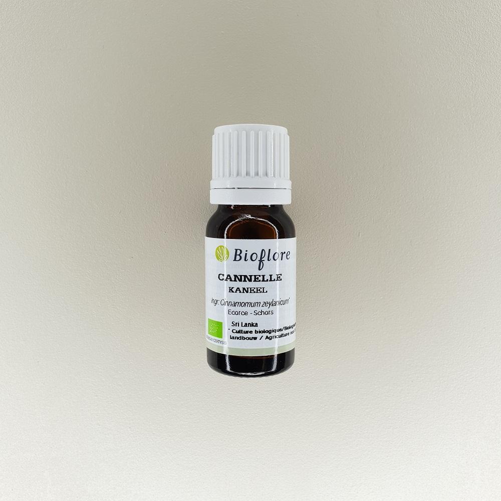 huile essentielle de cannelle de ceylan bio 10 ml Bioflore