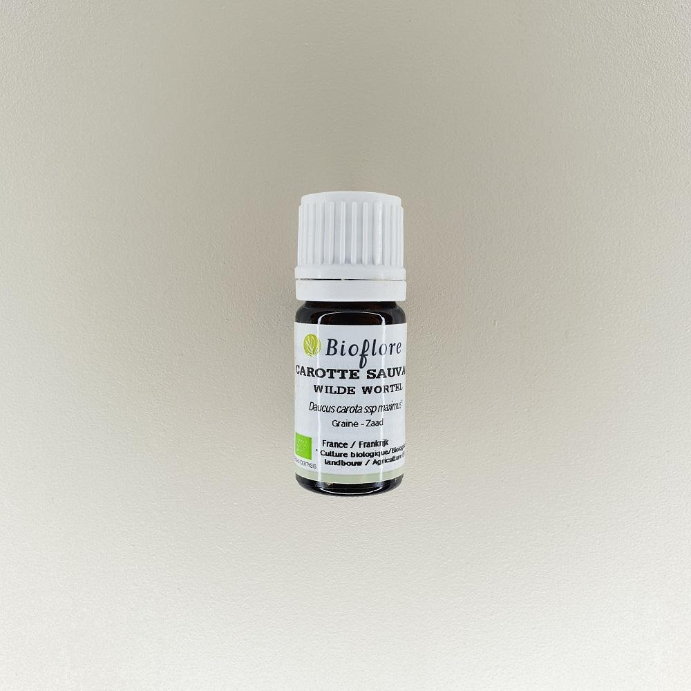 huile essentielle de carotte sauvage bio 10 ml Bioflore