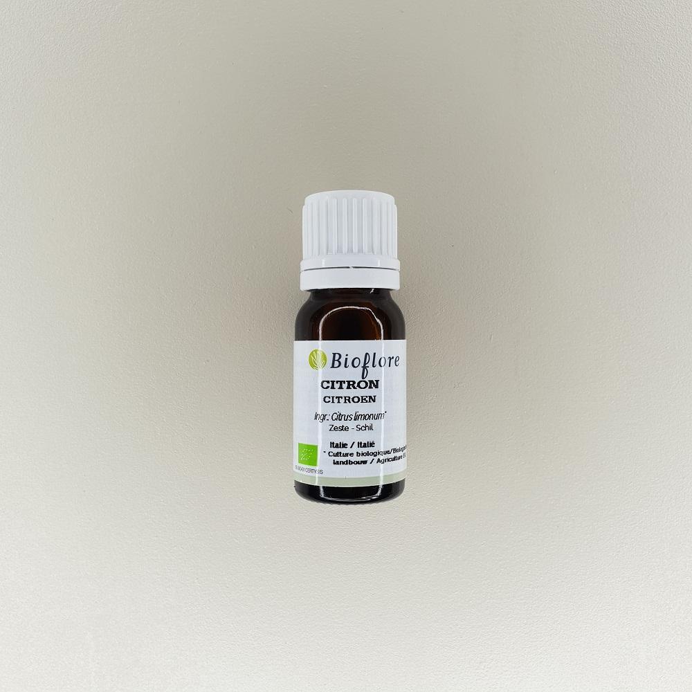 huile essentielle de citron bio 10 ml Bioflore