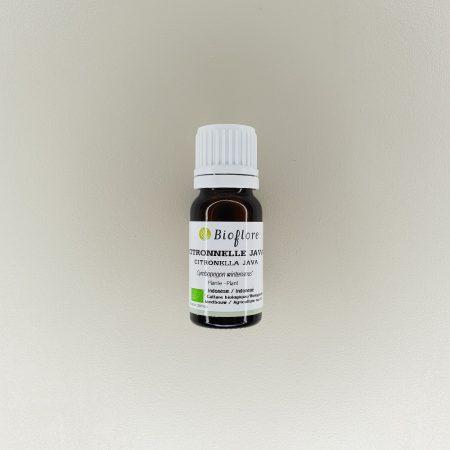 huile essentielle de citronnelle java bio 10 ml Bioflore