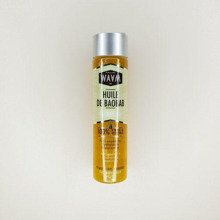 huile végétale pure de baobab Waam