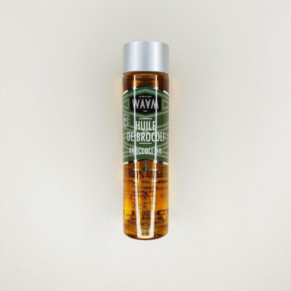 huile végétale de brocoli visage corps cheveux waam