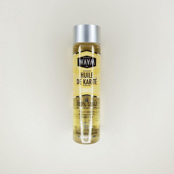 huile de karité visage corps cheveux waam
