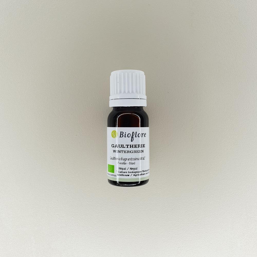 huile essentielle de gaultherie bio 10 ml Bioflore