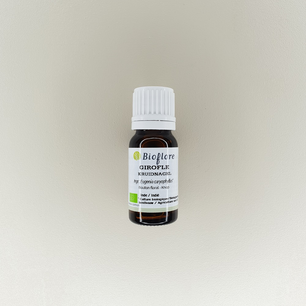 huile essentielle de bio girofle 10 ml Bioflore