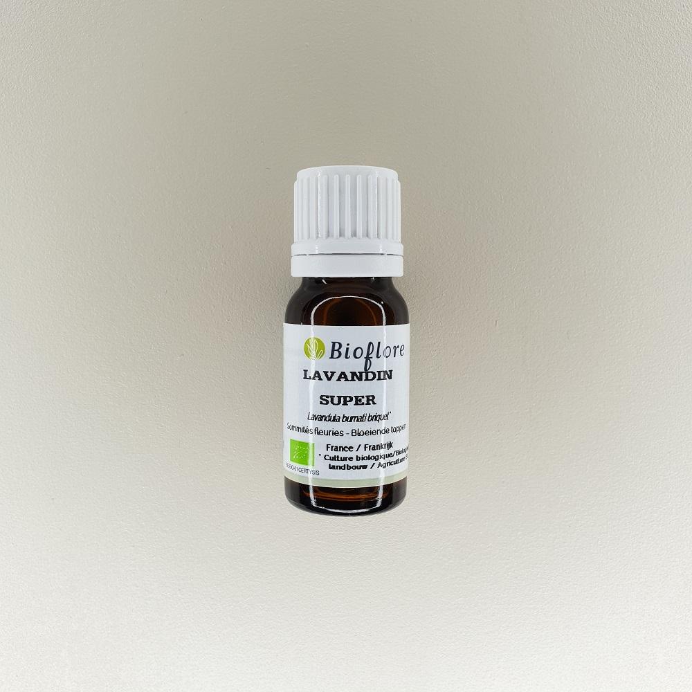 huile essentielle de lavandin super bio 10 ml Bioflore