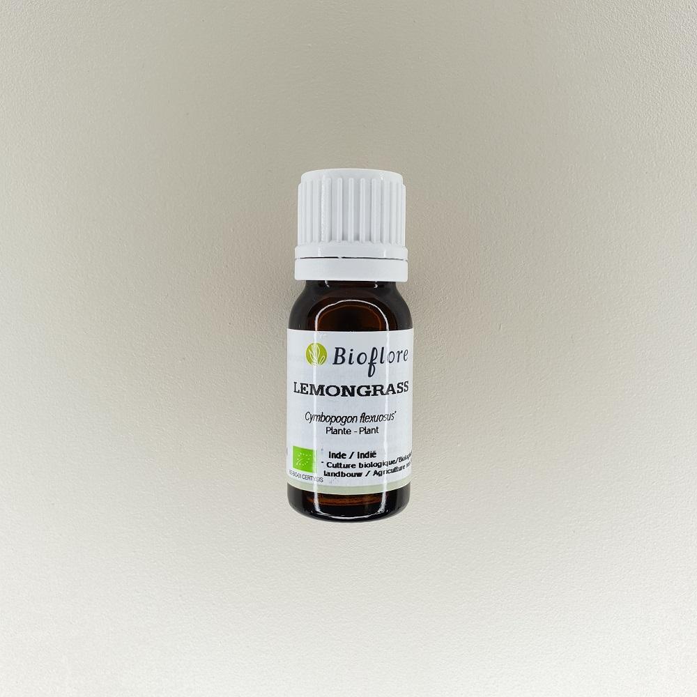huile essentielle de lemongrass bio 10 ml Bioflore