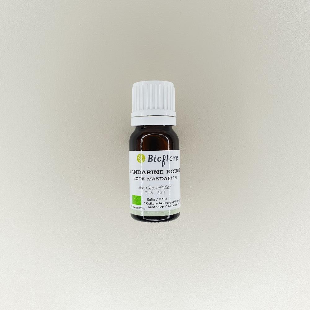 huile essentielle de mandarine rouge bio 10 ml Bioflore