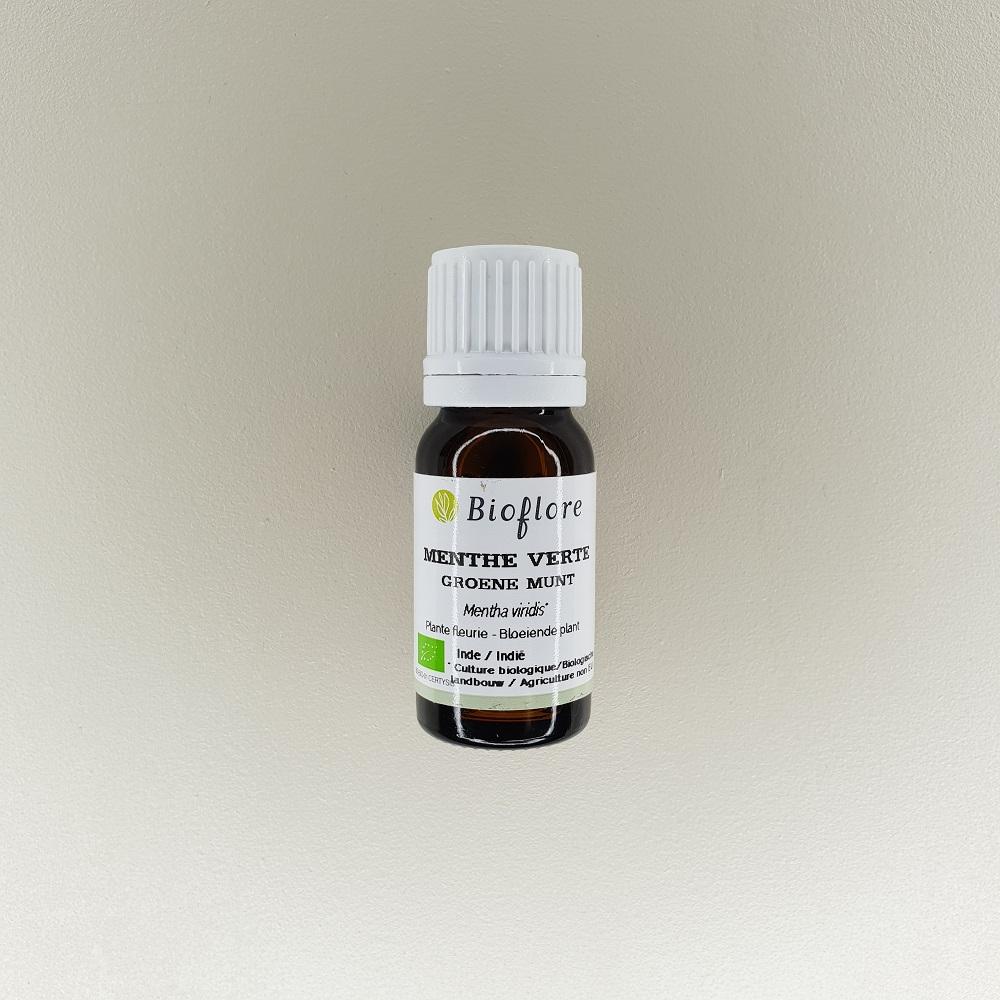 huile essentielle de menthe verte bio 10 ml Bioflore