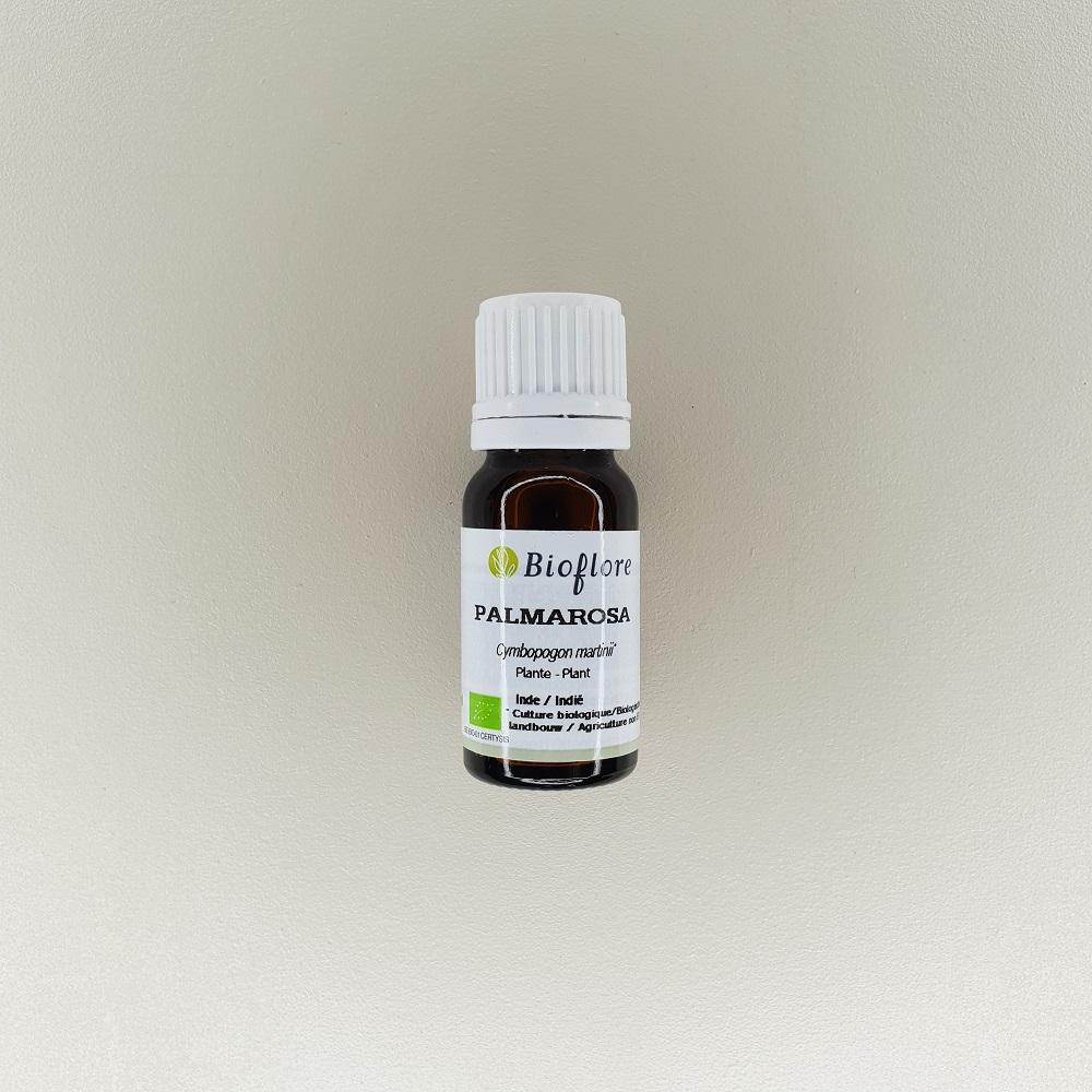 huile essentielle de palmarosa bio 10 ml Bioflore