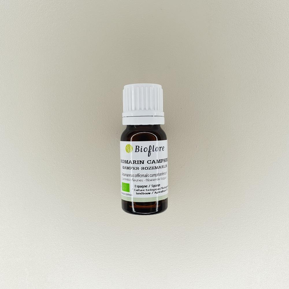 huile essentielle de romarin à camphre bio 10 ml Bioflore