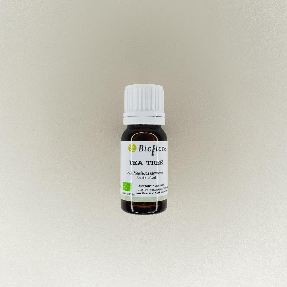 huile essentielle de tea tree ou arbre à thé bio 10 ml Bioflore