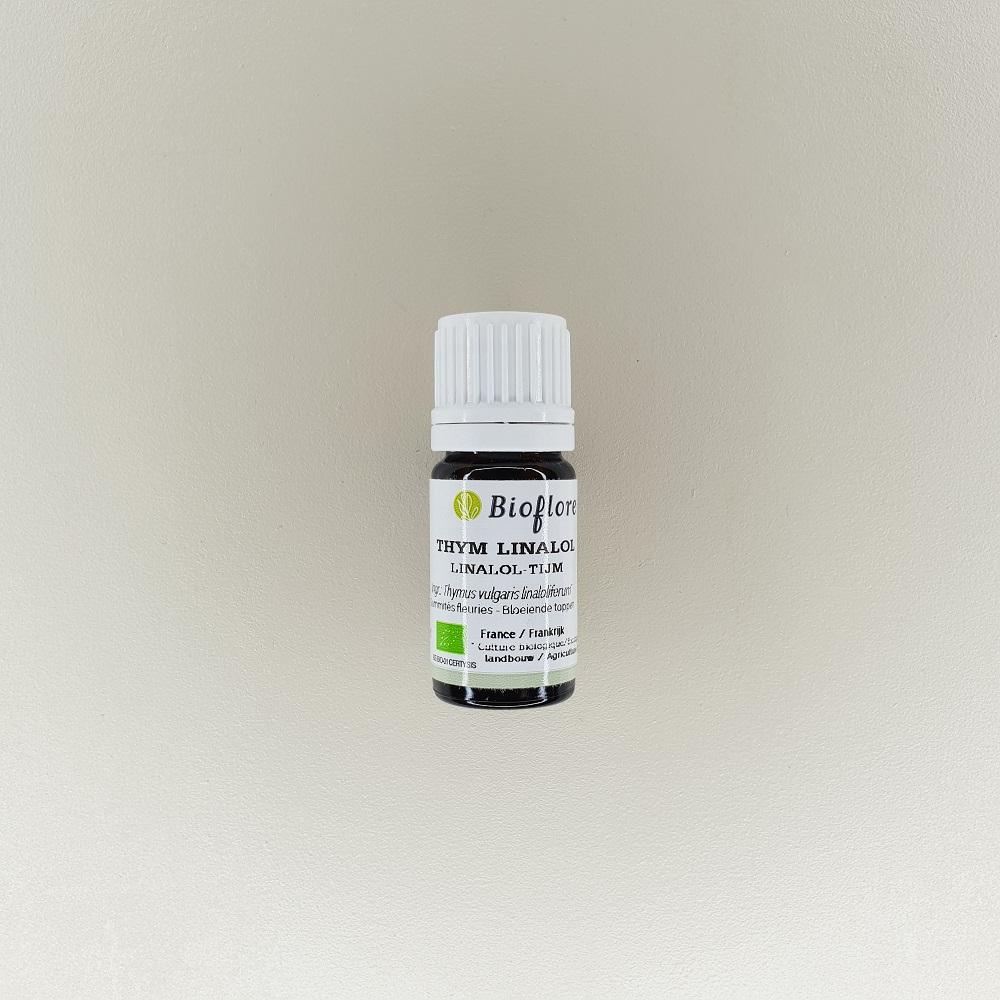 huile essentielle de thym à linalol bio 10 ml Bioflore