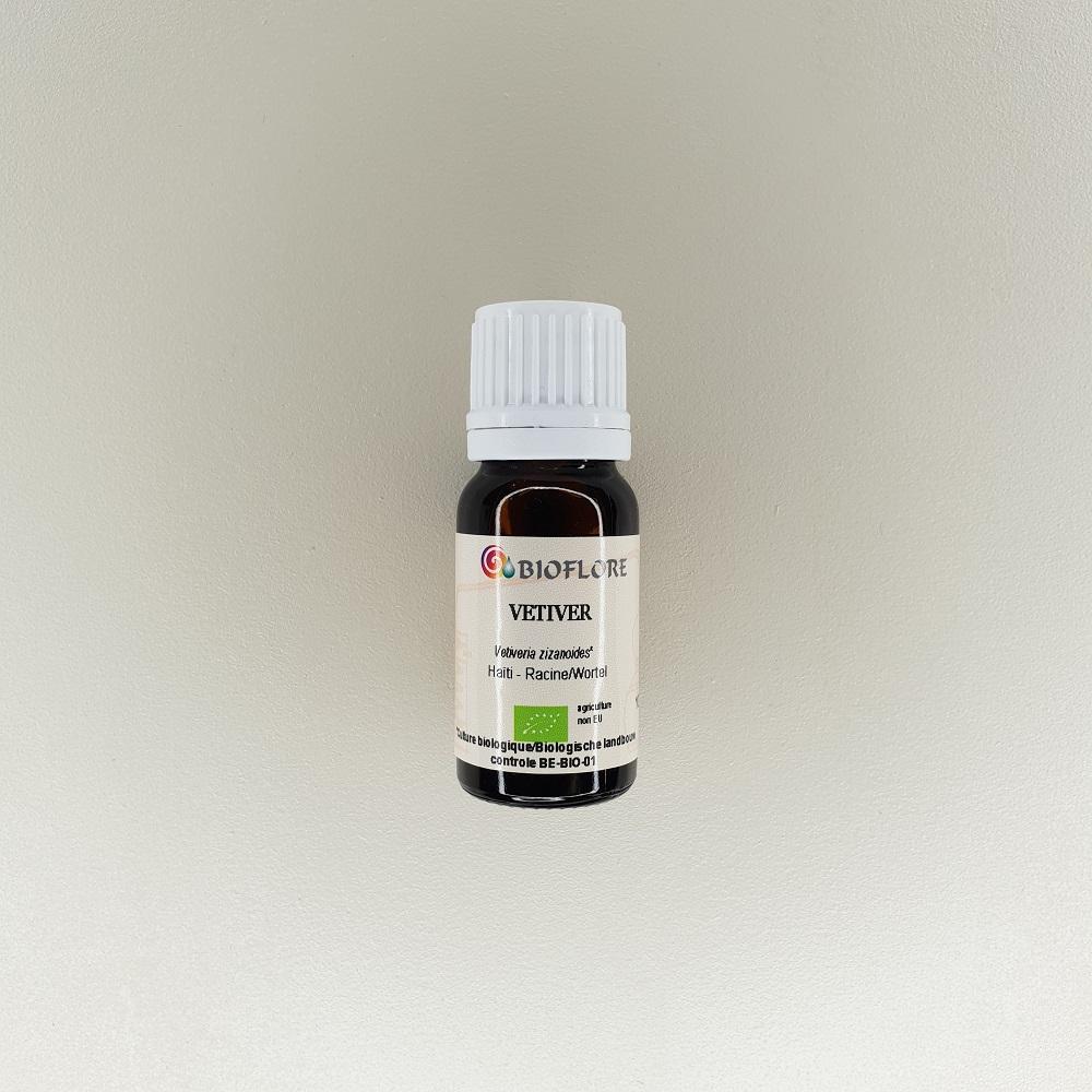 huile essentielle de vetiver bio 10 ml Bioflore