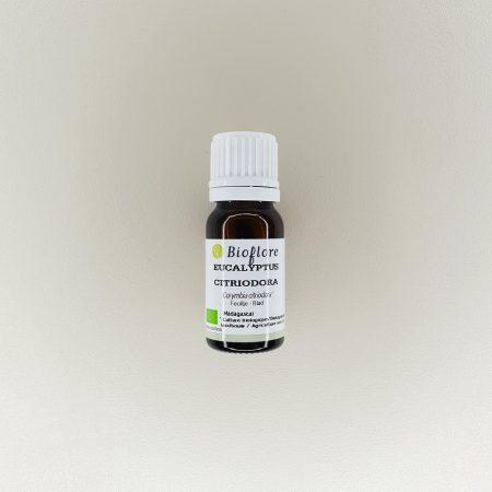 huile essentielle d'eucalyptus citronné bio Bioflore 10 ml