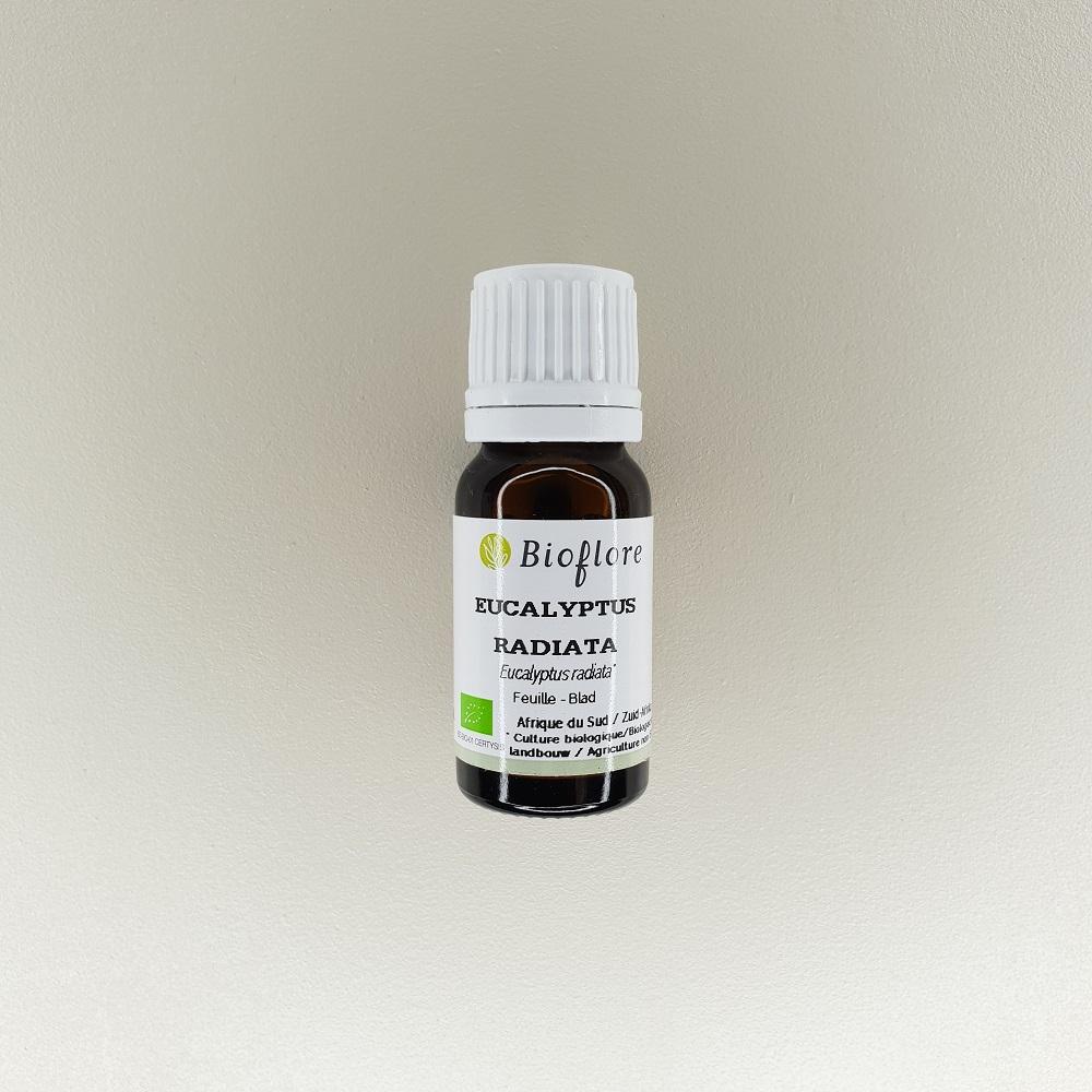 huile essentielle d'eucalyptus radié bio Bioflore 10 ml