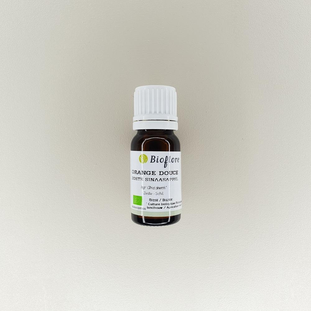 huile essentielle d'orange douce bio 10 ml bioflore