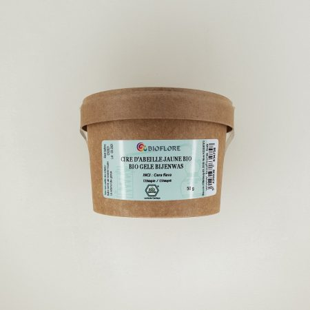 cire d'abeille jaune bio 50 grammes Bioflore