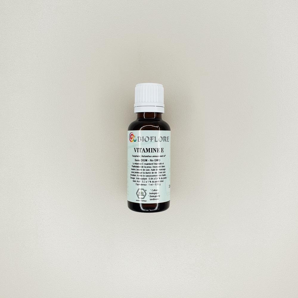 Conservateur naturel vitamine E 30ml bioflore