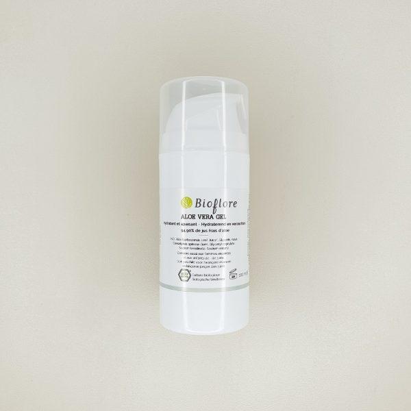Gel d'Aloe Vera pur bio bioflore 100 ml
