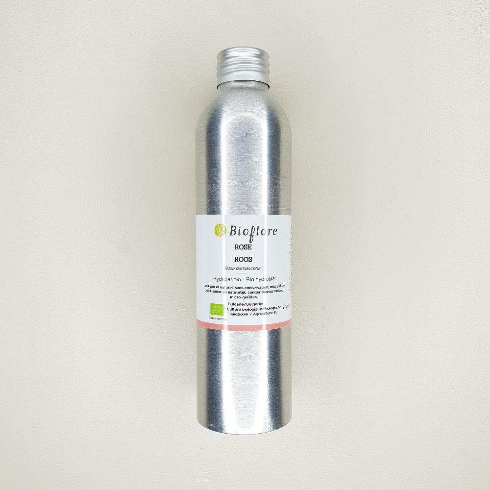 hydrolat de rose de damas bio 200 ml bioflore