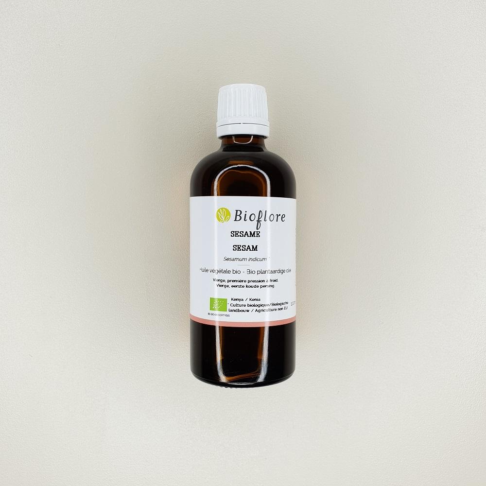 Huile de sesam bio 100 ml Bioflore