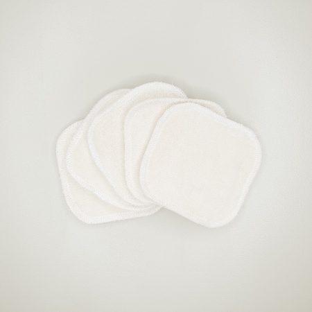 Carré démaquillant lavable coton bio Les Tendances d'Emma