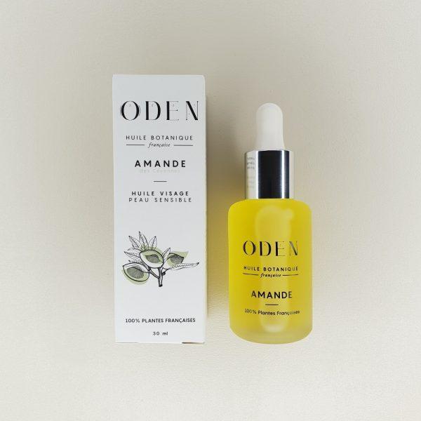 huile visage d'amande douce oden biologique